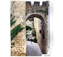 OBIDOS PORTUGAL WALLED CITY Poster