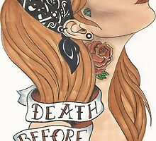 Death Before Dishonor by melaniedegier