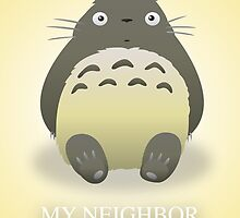 Totoro Poster by jeice27