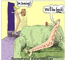 Boomerang Relationships by Rick  London