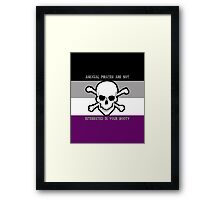 Asexual Pirates Framed Print