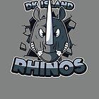 DK Island Rhinos by UniqSchweick12