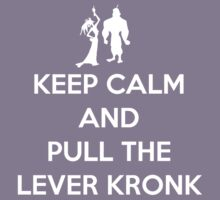 Keep Calm and Pull the Lever Kronk Kids Clothes
