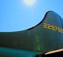 B-17 Tail by Sue Morgan