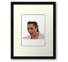 Kim! Framed Print