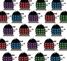 Chubby Dalek Pattern by firexjay
