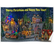 I wish you all Merry Christmas & Happy New Year! Poster