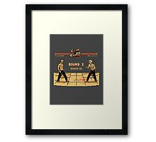 Club Fighter Framed Print