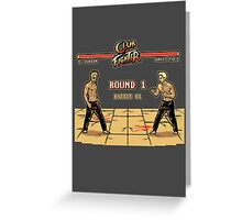 Club Fighter Greeting Card