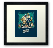 The Koopas Strike Back Framed Print