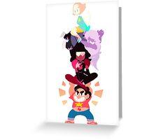 Power Lift ! Greeting Card
