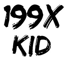 199X KID by makemymark