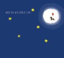When you wish upon a star, you get a horse by ideasexpress