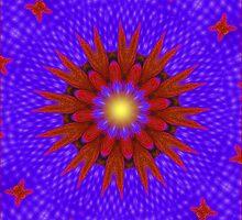 Flower Burst by Margaret Stevens