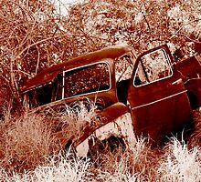Rusty Old Ute by shanata79