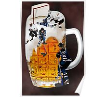 █ ♥ █ SPIRIT OF HOCKEY-BEER- HOCKEY PLAYERS CARD/PICTURE █ ♥ █  Poster
