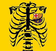 Barca Heart for Fans by refreshdesign