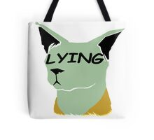 """lying cat- saga comic """"lying"""" Tote Bag"""