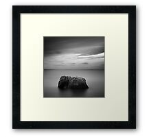 Lonely land Framed Print