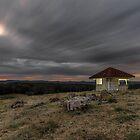 The Hut 2 - Gold Coast Hinterland Qld Australia by Beth  Wode