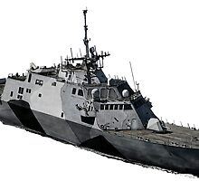 USS Freedom (LCS-1) by deathdagger