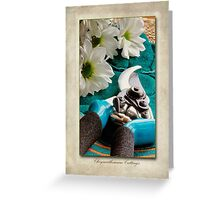 Chrysanthemum Cuttings Greeting Card