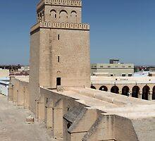 minaret Arab mosque  by mrivserg