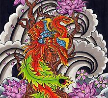 Japanese Phoenix  by Thoricartist