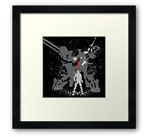 Tshirt The Snake Framed Print