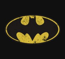 Batman Logo Old-school by lukeyp