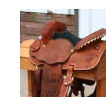 Barrel Trophy Saddle by jbartsranch