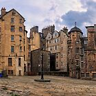 Panorama View: Lady Stairs Close, The Royal Mile Edinburgh by Miles Gray