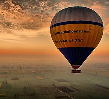 Egypt. Sunrise on the Balloon. by vadim19