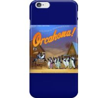 Orcahoma, The Musical  iPhone Case/Skin