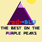 Red-Blu: The Best on the Purple Peaks by Uncle McPaint