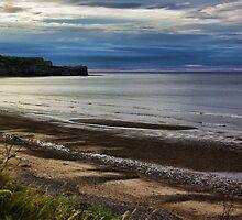 Sunset on the Coast by Trevor Kersley