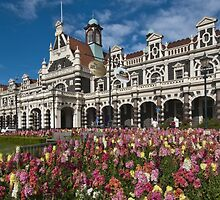 Dunedin Railway Station by Werner Padarin