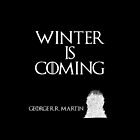 Winter is coming - George R. R. Martin - Game of Thrones by galatria