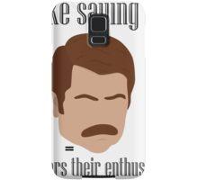 I Like Saying No Samsung Galaxy Case/Skin