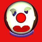 Sad Clown by Marie Van Schie