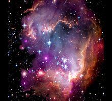Colorful Galaxy Pattern by NancyAnnDesign