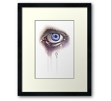 You Caught My Eye Framed Print