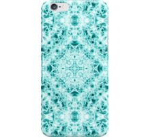 """Spirit of India: Magic Diamond"" in white and blue-turquoise iPhone Case/Skin"