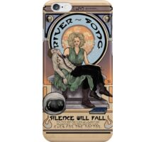 Silence Will Fall: The River's Pietà iPhone Case/Skin