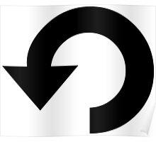 Repeat Symbol Poster