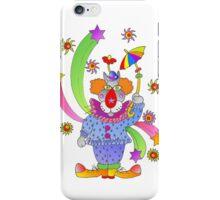 nosey clown iPhone Case/Skin