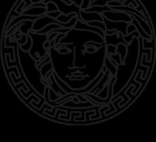 medusa white/black logo by shopsadness
