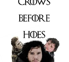 Crows Before Hoes by ItsSabYo