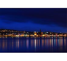 Night on the river Photographic Print