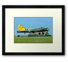 """B-17G Fortress II 44-85784 G-BEDF """"Sally B"""" Framed Print"""